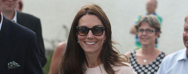 Herzogin Kate bei einem Termin in Cornwall im September 2016