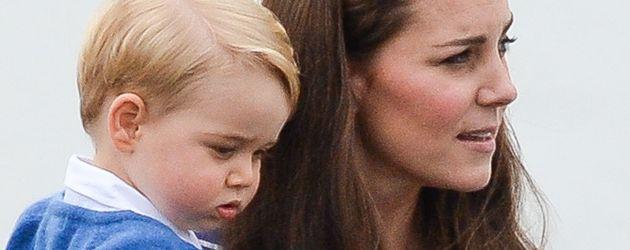 Prinz George und Kate Middleton