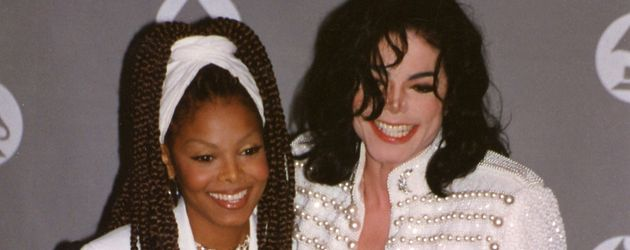Janet und Michael Jackson 1993 bei den Grammys in New York
