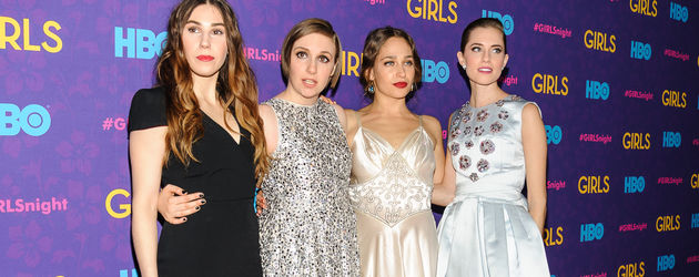 Lena Dunham, Allison Williams und Jemima Kirke
