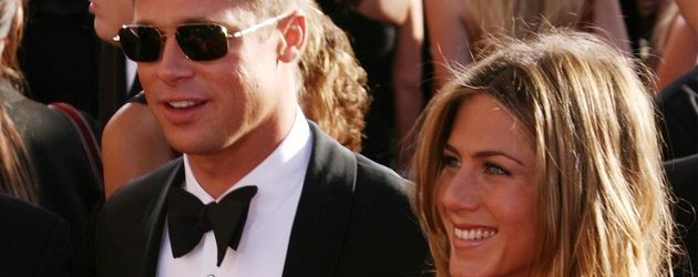Jennifer Aniston und Brad Pitt