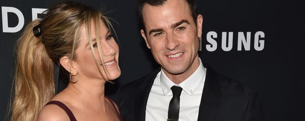 Jennifer Aniston und Justin Theroux in New York