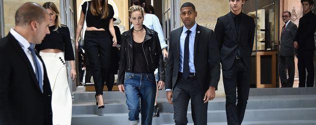 Jennifer Lawrence auf der Paris Fashion Week