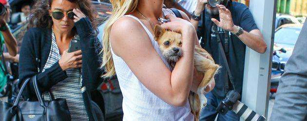 Jennifer Lawrence und Hund Pippi