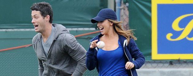 Jennifer Love Hewitt und Brian Hallisay