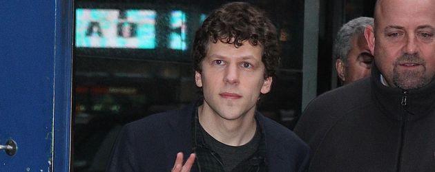 Jesse Eisenberg in New York