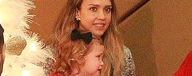 Jessica Alba und Haven Garner Warren