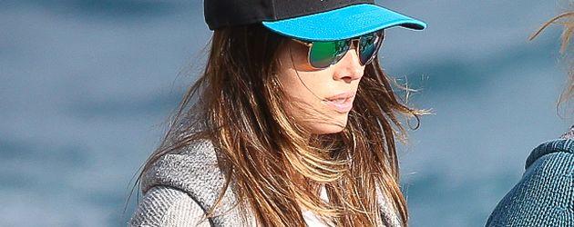 Jessica Biel am Strand