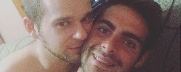 Jesús Tomillero mit seinem Freund