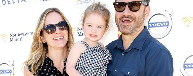 TV-Moderator Jimmy Kimmel und seine Familie
