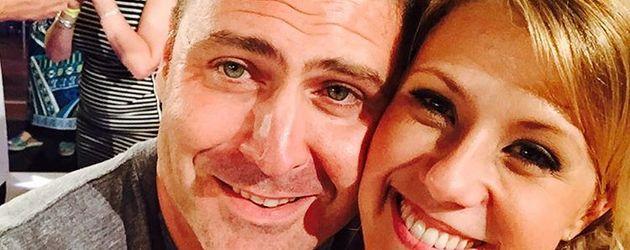 Jodie Sweetin mit ihrem Verlobten Justin Hodak