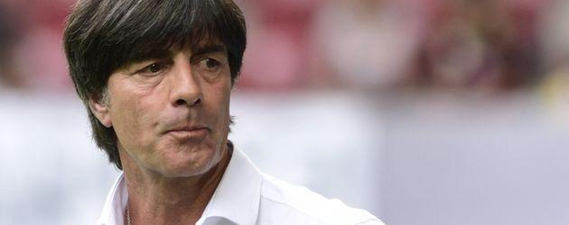 Jogi Löw beim Freundschaftsspiel Deutschland vs. Slowakei in Augsburg