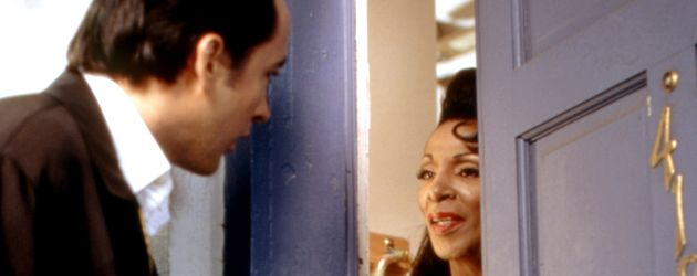 "John Cusack und The Lady Chablis in ""Midnight in the Garden of Good and Evil"""