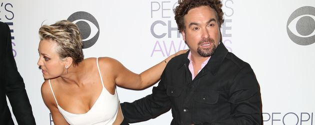 Kaley Cuoco und Johnny Galecki