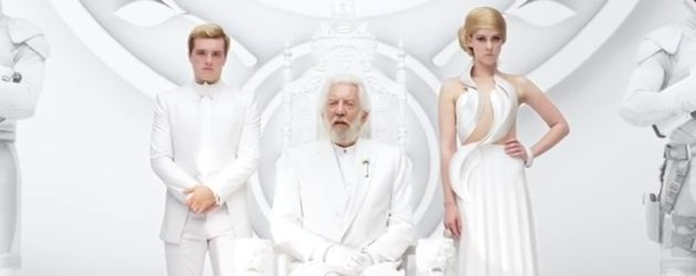 Hunger Games, Jena Malone, Josh Hutcherson und Donald Sutherland