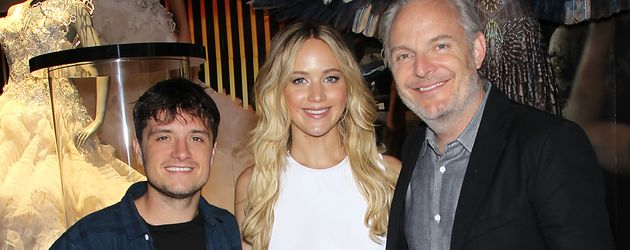 Jennifer Lawrence, Josh Hutcherson und Francis Lawrence