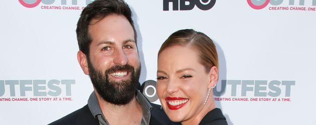 Josh Kelley und Katherine Heigl bei einer Premierenfeier in Los Angeles