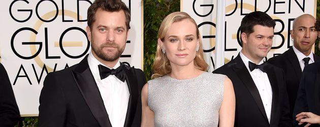 Joshua Jackson und Diane Kruger bei den Golden Globes 2015