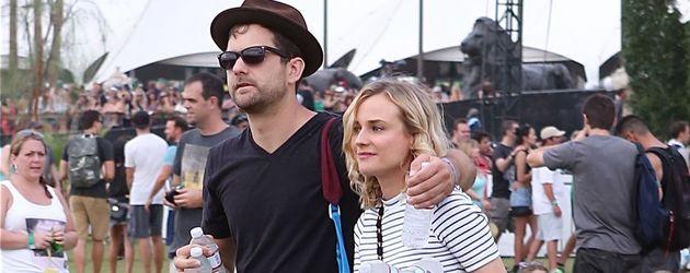 Diane Kruger und Joshua Jackson auf dem Coachella Festival