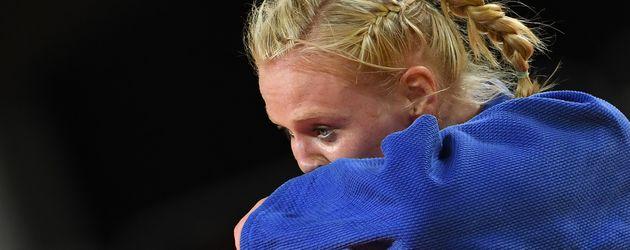 Judo-Kämpferin Luise Malzahn bei den Olympischen Spielen in Rio de Janeiro