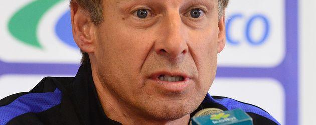 Jürgen Klinsmann bei einer Pressekonferenz