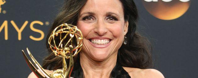 Julia Louis-Dreyfus nach der Emmy-Verleihung 2016