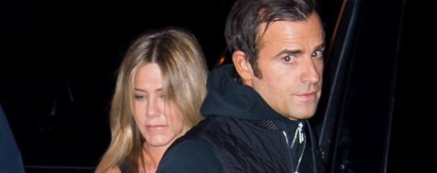 Justin Theroux und Jennifer Aniston kurz nach der Brangelina-Trennung in New York