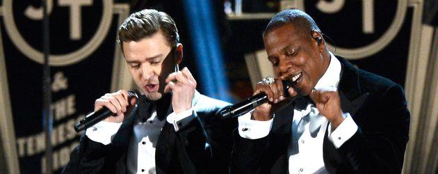 Jay-Z und Justin Timberlake