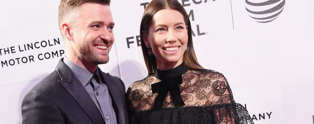 Justin Timberlake und Jessica Biel bei der The Devil and the Deep Blue Sea Premiere