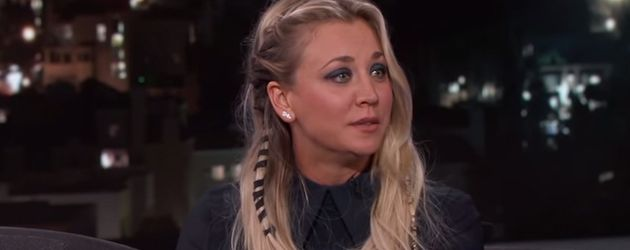 Kaley Cuoco bei Jimmy Kimmel Live