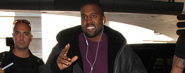 Kanye West am Flughafen in Los Angeles im November 2016