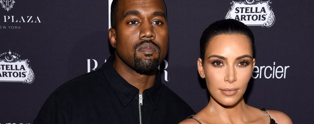 Kanye West und Kim Kardashian im September 2016 in New York