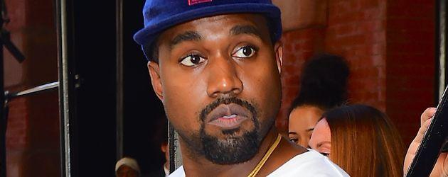 Kanye West beim Verlassen seines New Yorker Hotels im Oktober 2016.