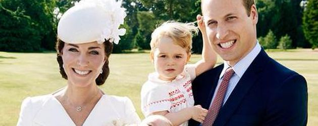 Herzogin Kate, Prinz William, Prinz George und Prinzessin Charlotte