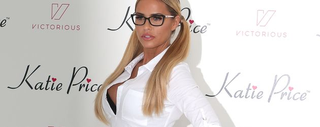 Katie Price beim Launch ihrer App 2015 in London