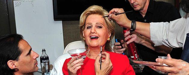 "Katy Perry im ""Hillary Clinton""-Kostüm"