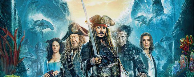 """Filmplakat von """"Pirates of the Caribbean: Salazars Rache"""""""