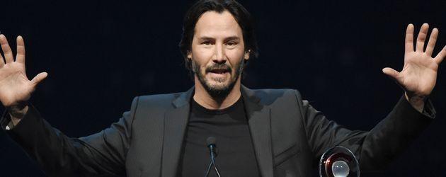 "Keanu Reeves bei den ""CinemaCon Big Screen Achievement Awards"""