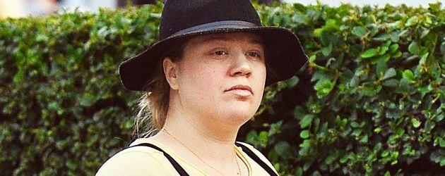 Kelly Clarkson während ihrer zweiten Schwangerschaft