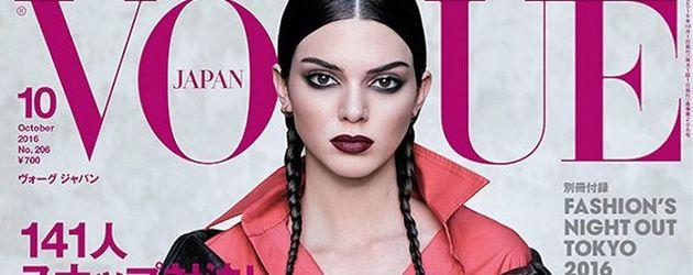 Kendall Jenner auf der Oktober-Ausgabe der japanischen Vogue