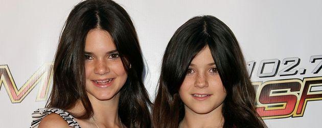 Kendall und Kylie Jenner 2008