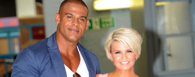 Kerry Katona mit ihrem Freund George Kay