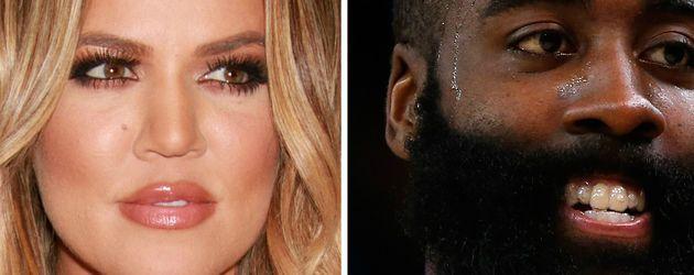 Khloe Kardashian und James Harden