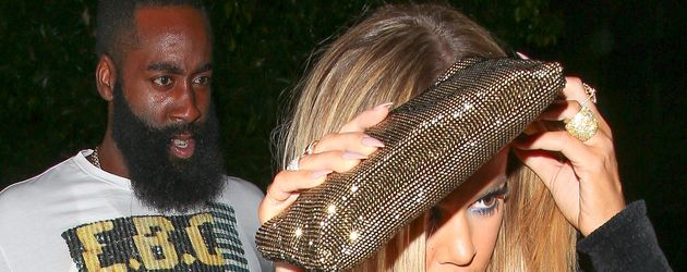 James Harden und Khloe Kardashian