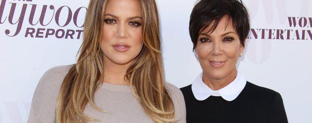 Khloe Kardashian und Kris Jenner beim Women in Entertainment Breakfast in Los Angeles