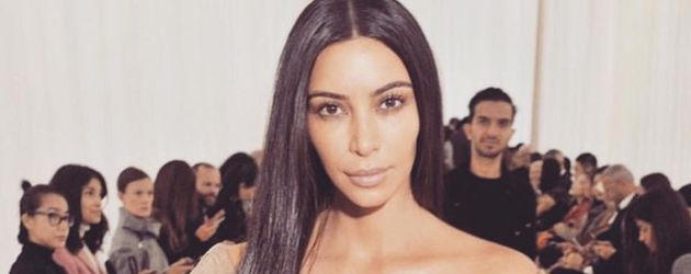 Kim Kardashian ohne Make-up