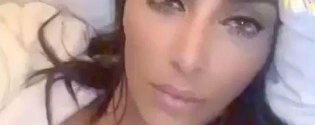 Kim Kardashian posiert auf Snapchat