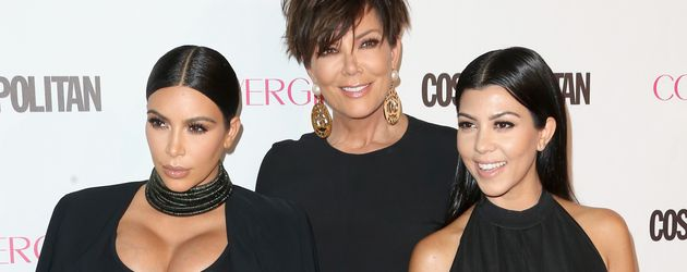 Kim Kardashian, Kourtney Kardashian und Kris Jenner