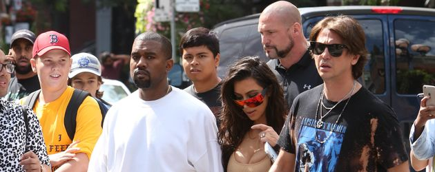 Kim Kardashian und Kanye West in Toronto
