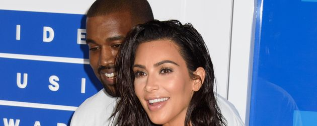 It-Girl Kim Kardashian und Rapper Kanye West